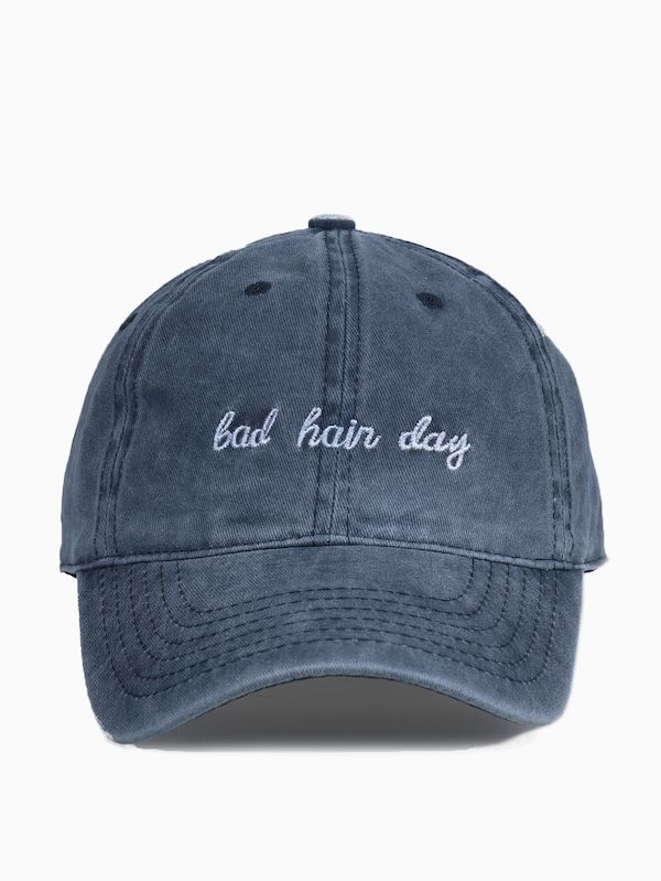 #1 DAUGHTER 100/% COTTON BASEBALL CAP WITH TEXT EMBROIDERED