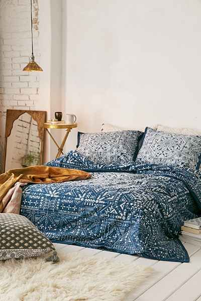 Housse de couette izmir maze magical thinking deco for Chambre urban outfitters