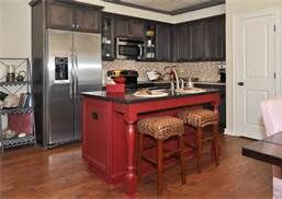 red kitchen islands - Bing Images