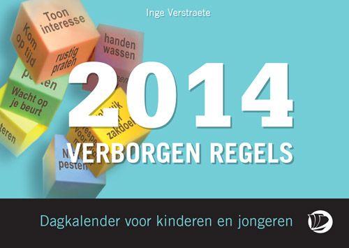Dagkalender met de verborgen regels, die door kinderen met autisme vaak niet aangevoeld worden.