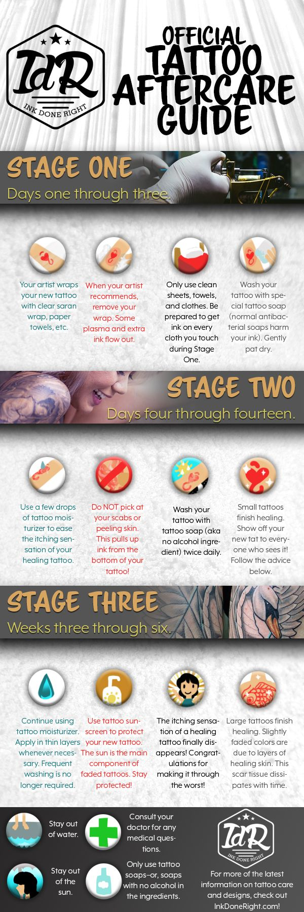 It's very important to know How to Care for a Tattoo, since your tattoo aftercare will affect how your tattoo ends up looking. Tattoos that are...