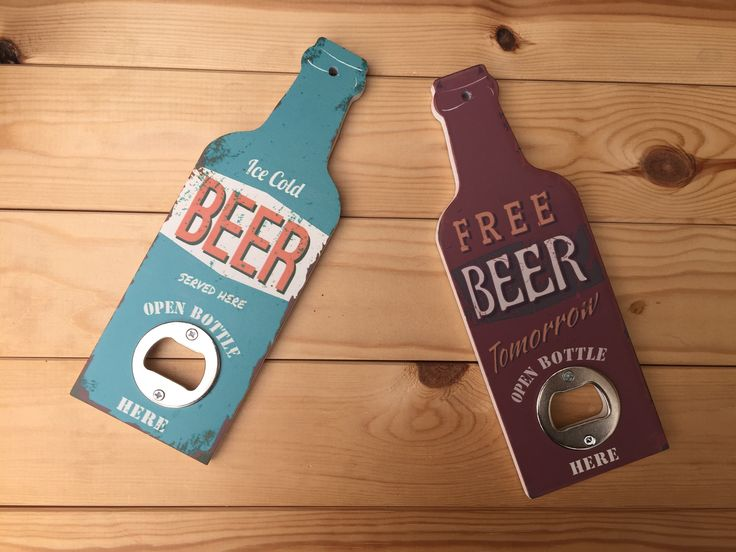 Retro beer bottle opener