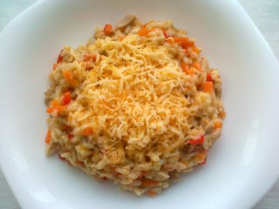 kisribizli blogja: Csirkés-zöldséges rizottó