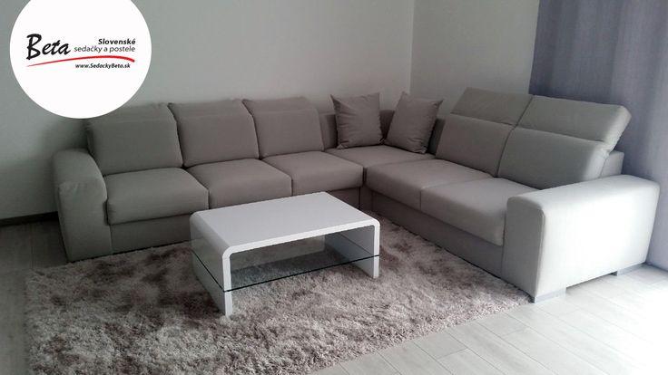 """Aj takto môže vyzerať vaša vysnívaná #sedackaEnny ;) Ďakujeme pani Tóthovej za foto   """"V prvom rade sa chcem poďakovať za skvelý zákaznícky servis.Sedačku sme si vybrali v predajni v Bratislave,kde predávajúci pán Masár bol veľmi ochotný a pomohol nám vybrať tú najvhodnejšiu sedačku.Vybrali sme si ENNY, odtieň CARABU 76, #aquaclean a sme veľmi spokojní. Sedačka je krásna a pohodlná. Čo sa týka dodania, 2 týždne a mali sme ju doma. Určite odporúčame."""""""