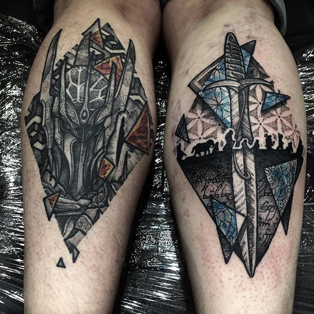 Lord of the rings tattoo ring