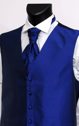 Blue for a tux