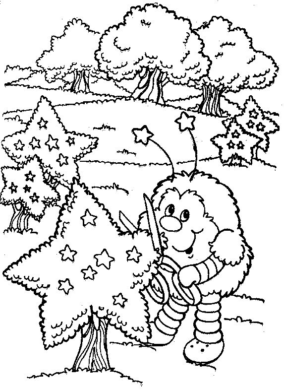 38 best Rainbow Brite Coloring Pages images on Pinterest Rainbow