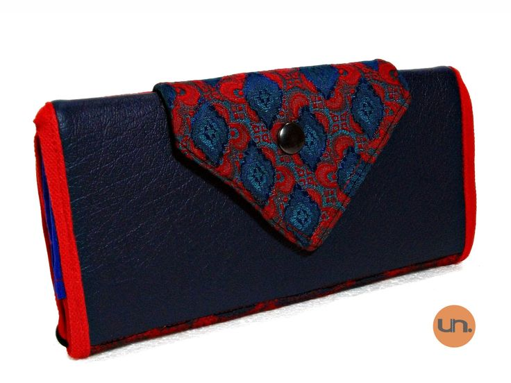 Vegan Wallet for Women Ladies Wallet Clutch Purse - Handmade Custom Order