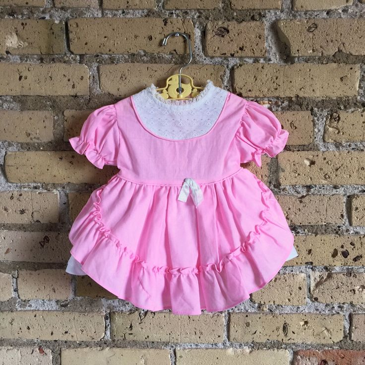 A personal favorite from my Etsy shop https://www.etsy.com/listing/270424684/vintage-1980s-baby-girl-size-6m-dress