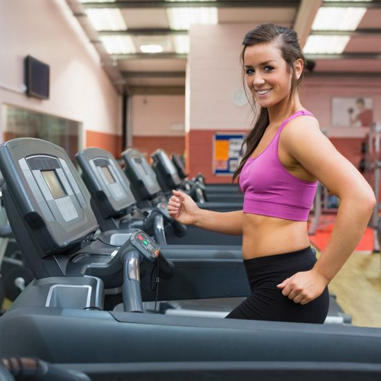 Try this combo workout plan: treadmill time + ab and arm work!