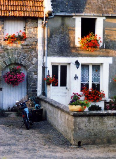 Häuschen Denneville, Normandie - Foto: S. Hopp