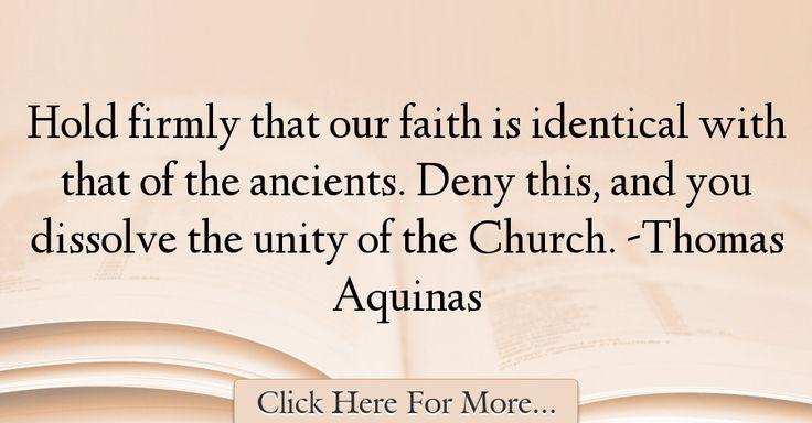 Thomas Aquinas Quotes About Faith - 19331