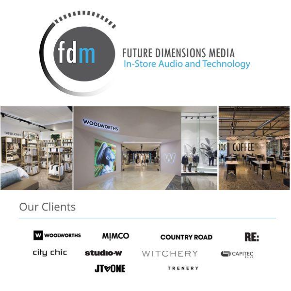 Our clients #fdm #instoreaudio