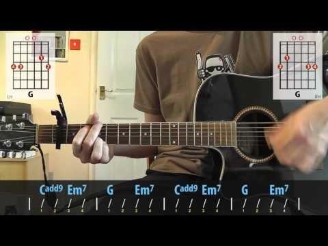 how to play oasis wonderwall on ukulele