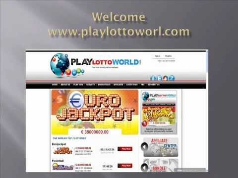 Playing lottery online is an exciting and thrilling experience with anticipation in every round. PlayLottoworld brings forth a wide selection of online lotto games including USA Powerball, Euro Jackpot, Itlian Superenalotto, Brazil MegaSena, French Loto etc