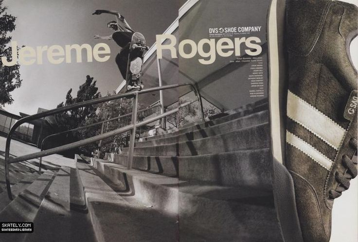DVS Shoes - Jereme Rogers Ad (2002)
