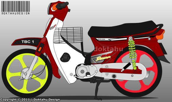 Insurance Quotes Car >> Ex5 Honda Ex5 Dream Blue Black Gold Sticker Decals Modified Honda ... | Honda, Cars motorcycles ...