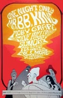 B.B. King, Moby Grape and the Steve Miller Band @ the Fillmore, SF, 1967.