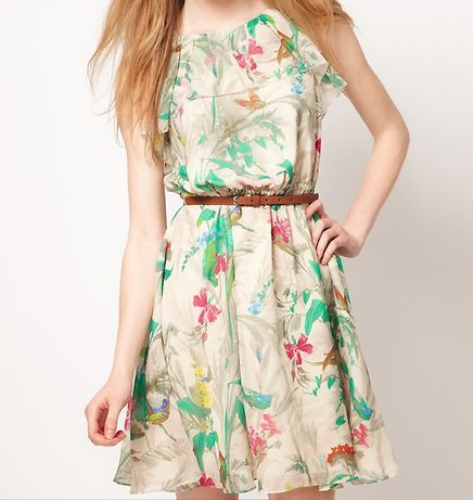 vestidos florais