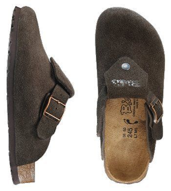 Birki ''Shetland'' from Leather in Mocha with a narrow insole Birki's. $78.64. suede