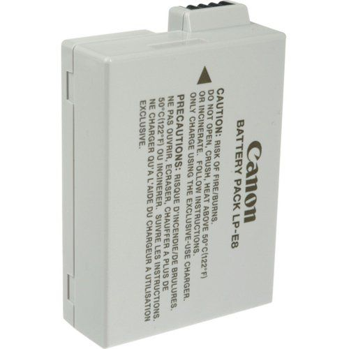 Canon LP-E8 Battery Pack for Canon Digital Rebel T2i and T3i Digital SLR Cameras (Retail Package) Canon,http://www.amazon.com/dp/B00393THEK/ref=cm_sw_r_pi_dp_q2fAtb16P8047NSY