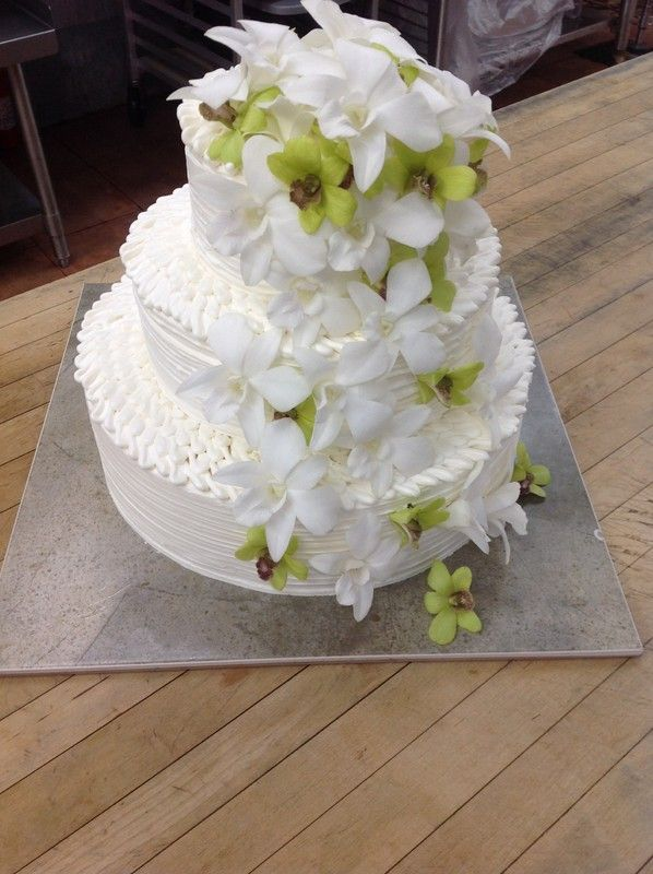 wedding cakes kauai hawaii kō bakery kauai hawaii cake bakers three tier wedding 24840