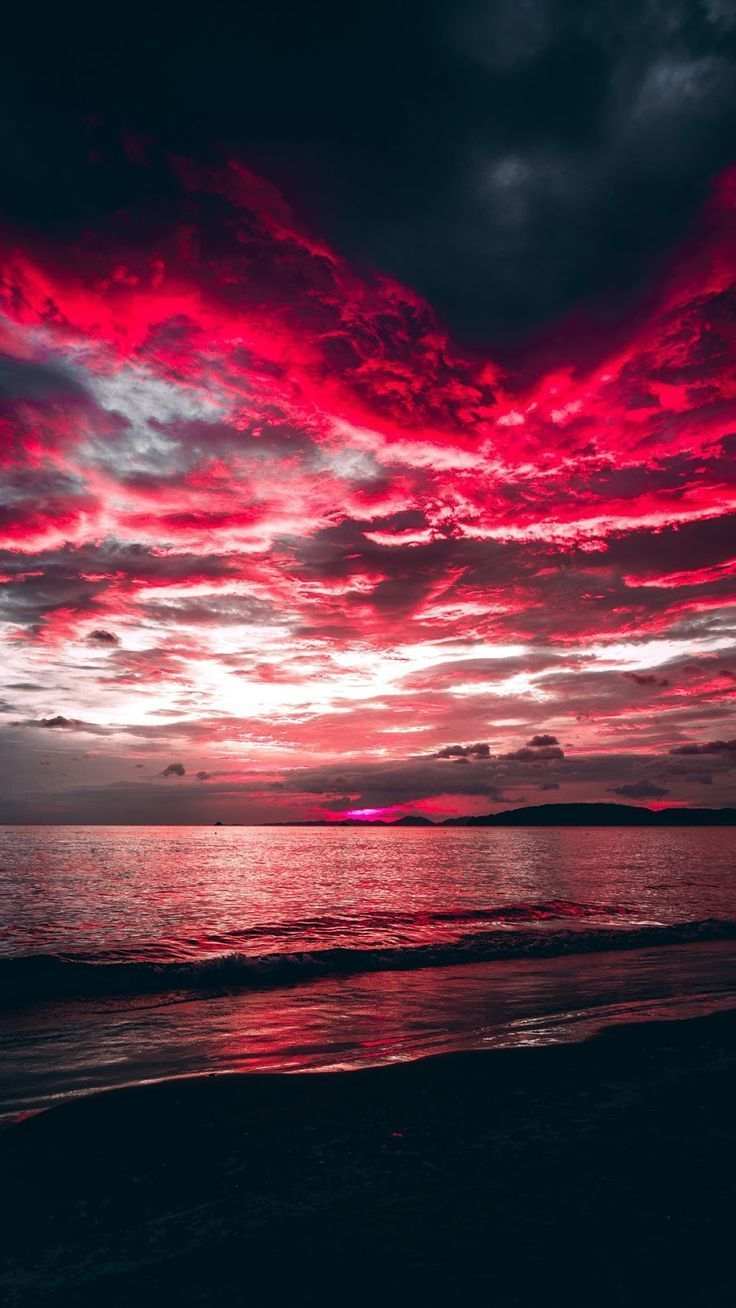 Rote Wolken – #photographische #rote # Wolken
