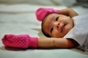 Newborn hiccups are okay