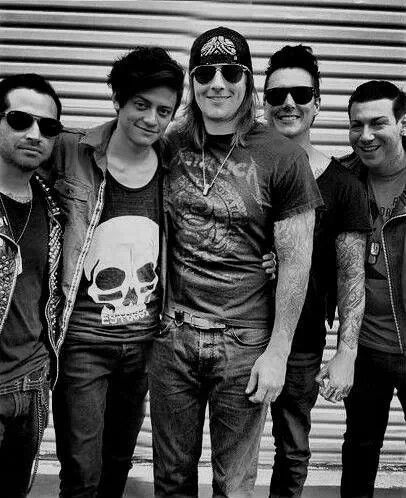 Avenged sevenfold I get to see them in 17 days.  I am freaking out because I am so excited.  gosh I am a dork.