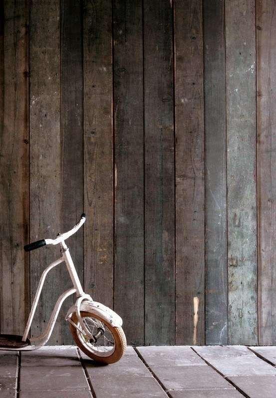 Sloophout behang van Piet Hein Eek