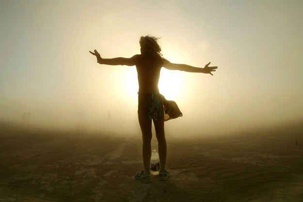 Standing free