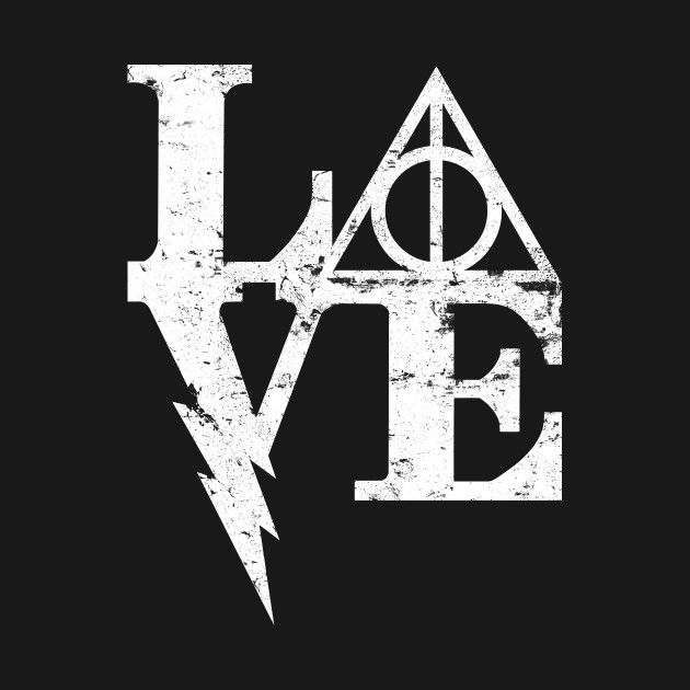 HARRY LOVE T-Shirt - Harry Potter T-Shirt is $11 today at Ript!