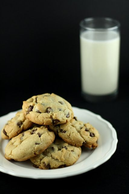 chocolate chip cookies with Crisco