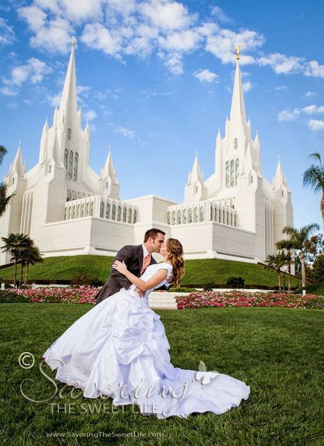 Lds Wedding Dresses San Diego : San diego temple on mormon temples lds and