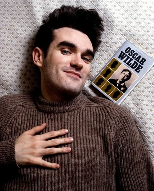 "On seizing the day: ""Nothing is important, so people, realising that, should get on with their lives, go mad, take their clothes off, jump in the canal, jump into one of those supermarket trolleys, race around the supermarket and steal Mars bars and kiss kittens."" Morrissey, INFP."