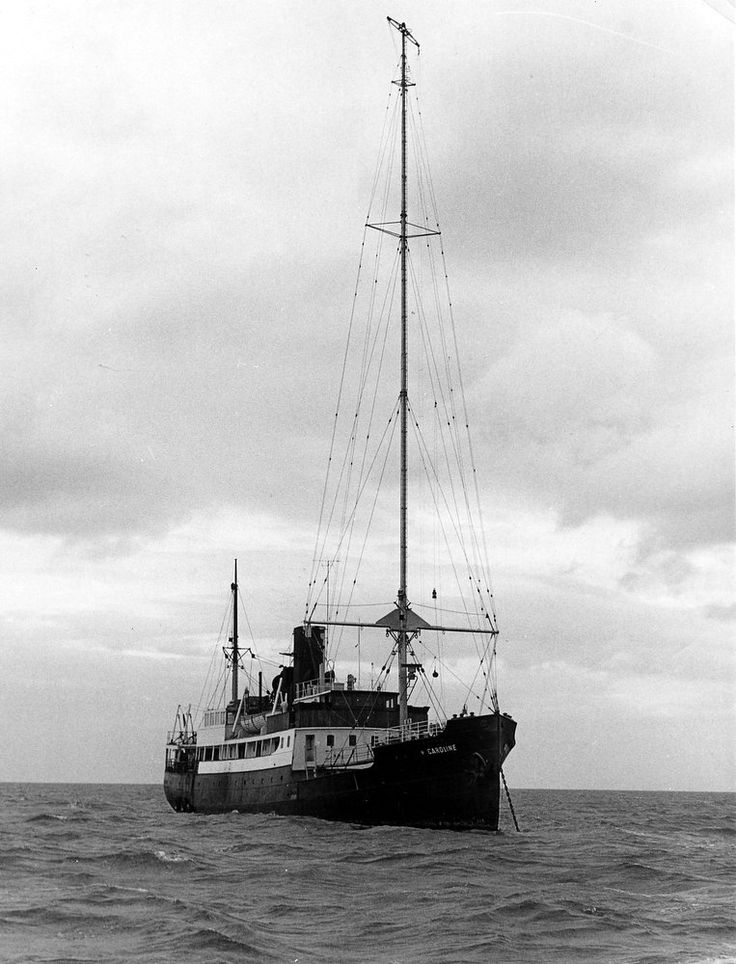 Britain's first offshore radio station Radio Caroline