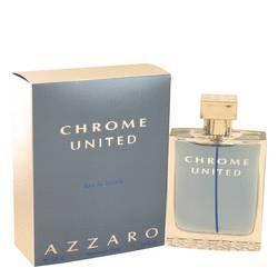 Chrome United Eau De Toilette Spray By Azzaro