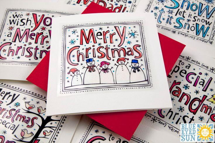 Funky Christmas card range from Blue Eyed Sun