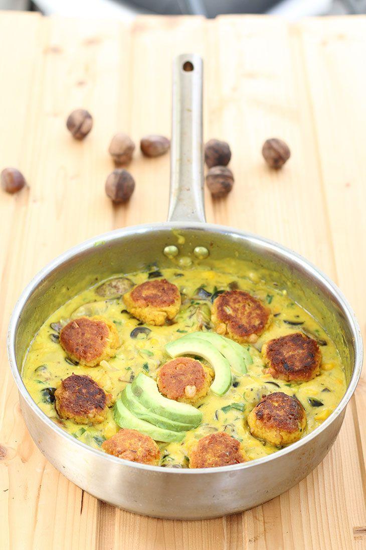 Dal Kofta---Lentil-Balls-in-Curry-Sauce-Chiftelute-de-linte-in-sos-curry-reteta