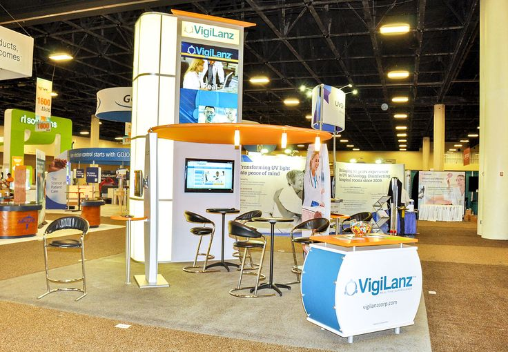 Nimlok Minnesota worked with VigiLanz to create a 20' by 20' island booth solution that helped their brand SHOW UP! Call us today at 651-647-0598 to get started.