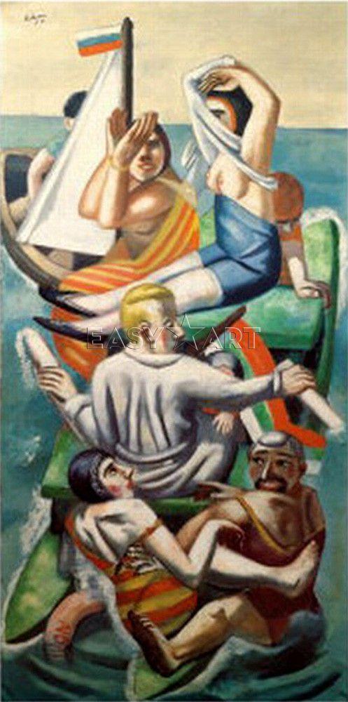Max Beckmann - The Bark, 1926 - The Met