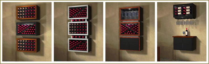 Contemporary-styled modular wine racks are also available. Mixing different configurations can produce the most elegant and striking appearance in any storage space. Check out more photos here - http://www.winecellarspec.com/modular-wine-racks-texas-kessick/. Wine Cellar Specialists  858 West Armitage Avenue #385 Chicago, IL 60614  Toll Free: 866-646-7089  Illinois Office: 773-234-0112