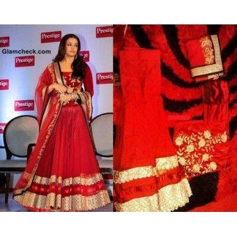 @ $109 Aishwarya Rai Lehenga Choli with FREE shipping worldwide offer.