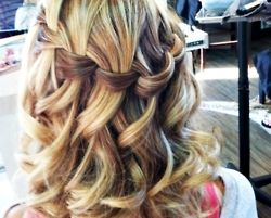 : Hair Ideas, Wedding Hair, Hairstyles, Waterfalls, Hair Styles, Makeup, Beauty, Waterfall Braids