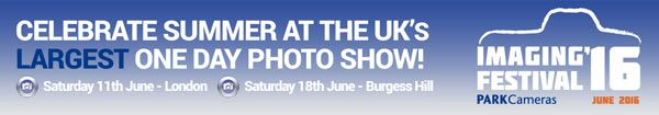 Park Cameras Imaging Festival 2016 in the UK; June 11-London & June 18-Burgess Hill: Black & White Photo Contest for the UK, Prize Draws, Giveaways, Seminars, Canon Sensor Cleans & More: All at No Cost  www.photoxels.com/park-cameras-imaging-festival-2016/