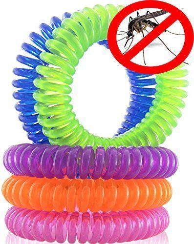 Mosquito Repellent Bracelets, 10 Pack