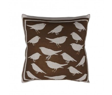 Chocolate Bird Toss Pillow.: Birds Prints, Birds Cushions, Chocolates Birds, Stones Birds, Toss Pillows, Natural Stones, Throw Pillows, Birds Toss, Birds Pillows Lov