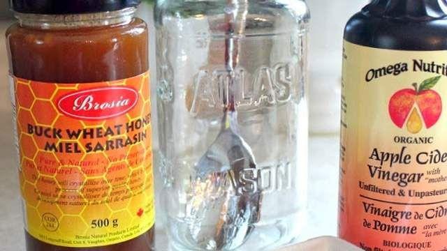 ノドの痛みとセキを和らげる手作りシロップのレシピ
