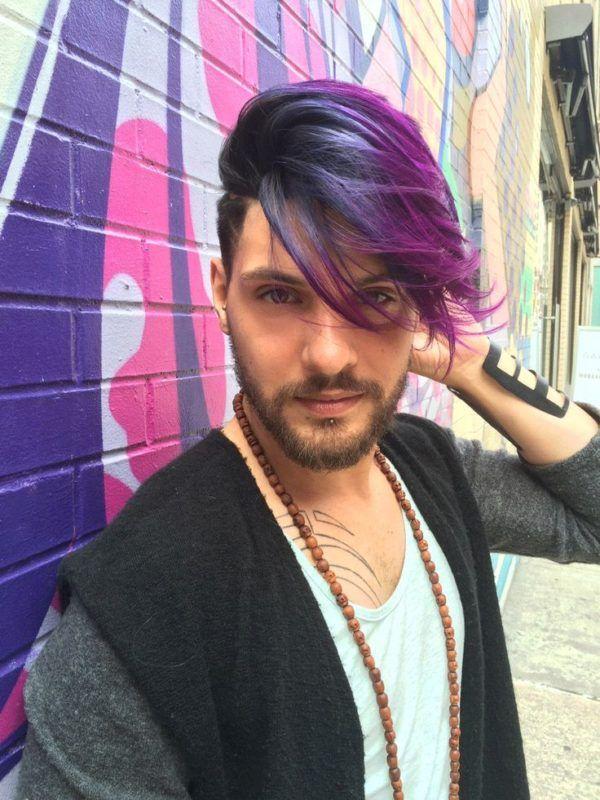 Colores para el cabello de hombres Primavera Verano 2016: Dos colores