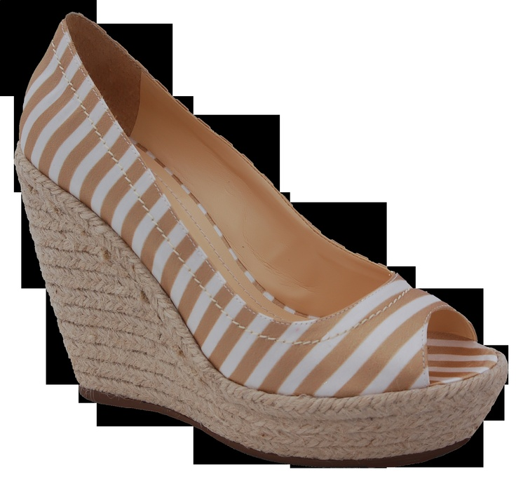 Nautical inspired wedge.